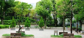「牛込弁天公園」