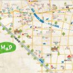 熊野町の地図ができました。