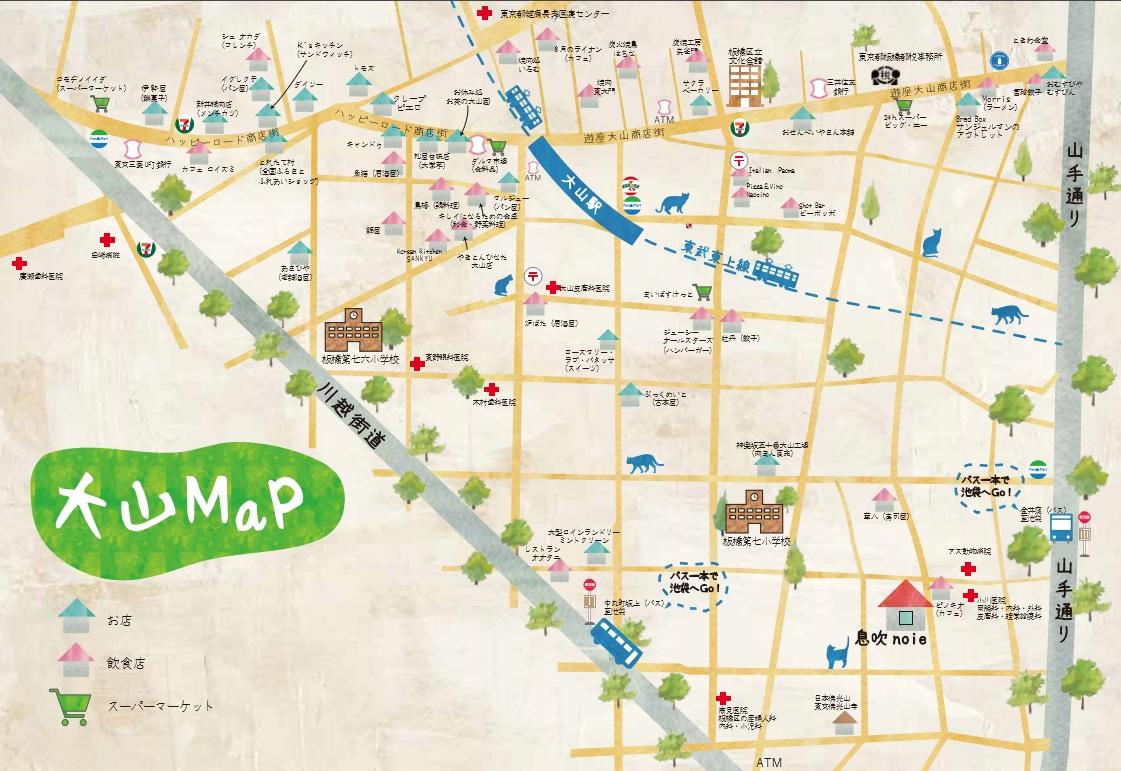 熊野町の地図