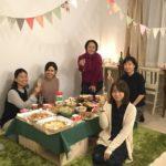 東京の女性専用シェアハウス「都立de集う」でクリスマス会をいたしました。