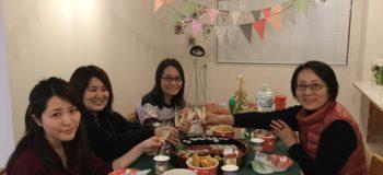 東京の女性専用シェアハウス「息吹noie」でクリスマス会をいたしました。
